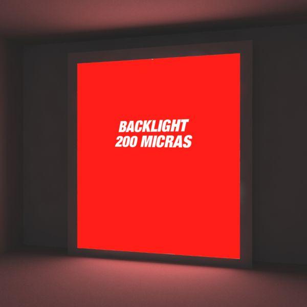 Backlight 200 micras IMP. Látex