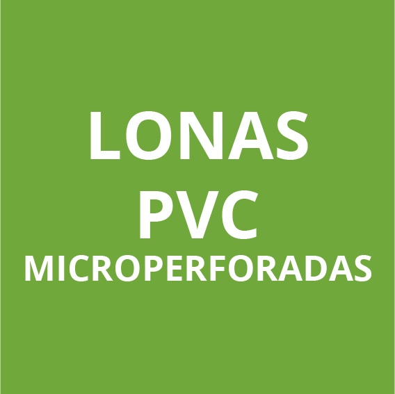 Lonas de PVC microperforada