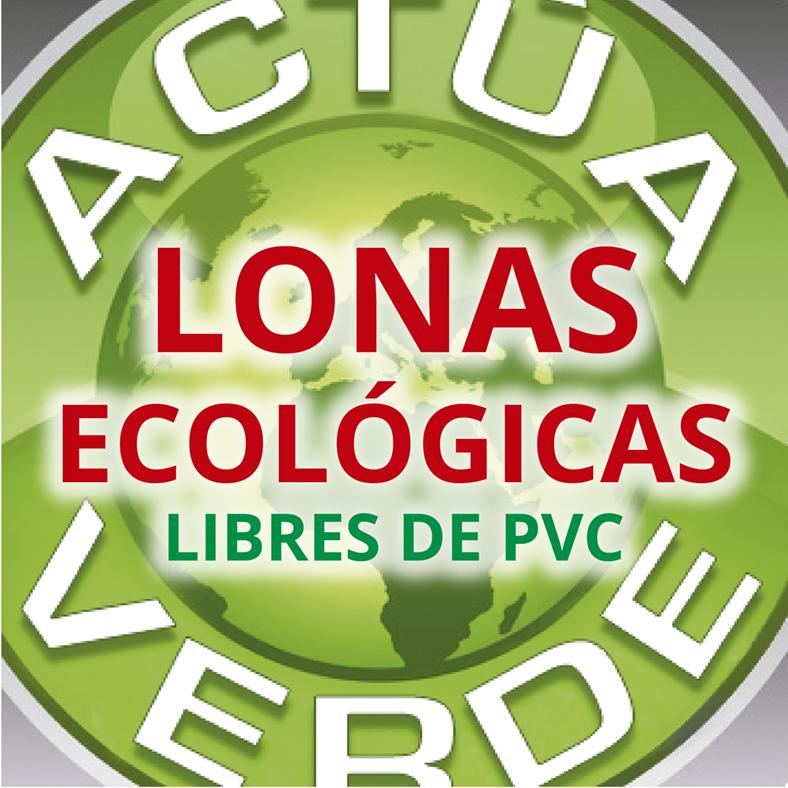 Lona Ecológica Libre de pvc.